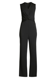 DKNY Twist Front Jumpsuit