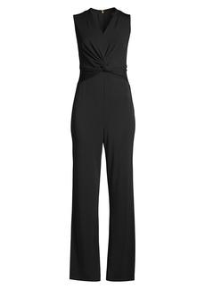 DKNY Twist Front Jumpsuit