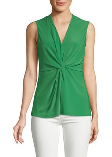 DKNY Twisted Sleeveless Top
