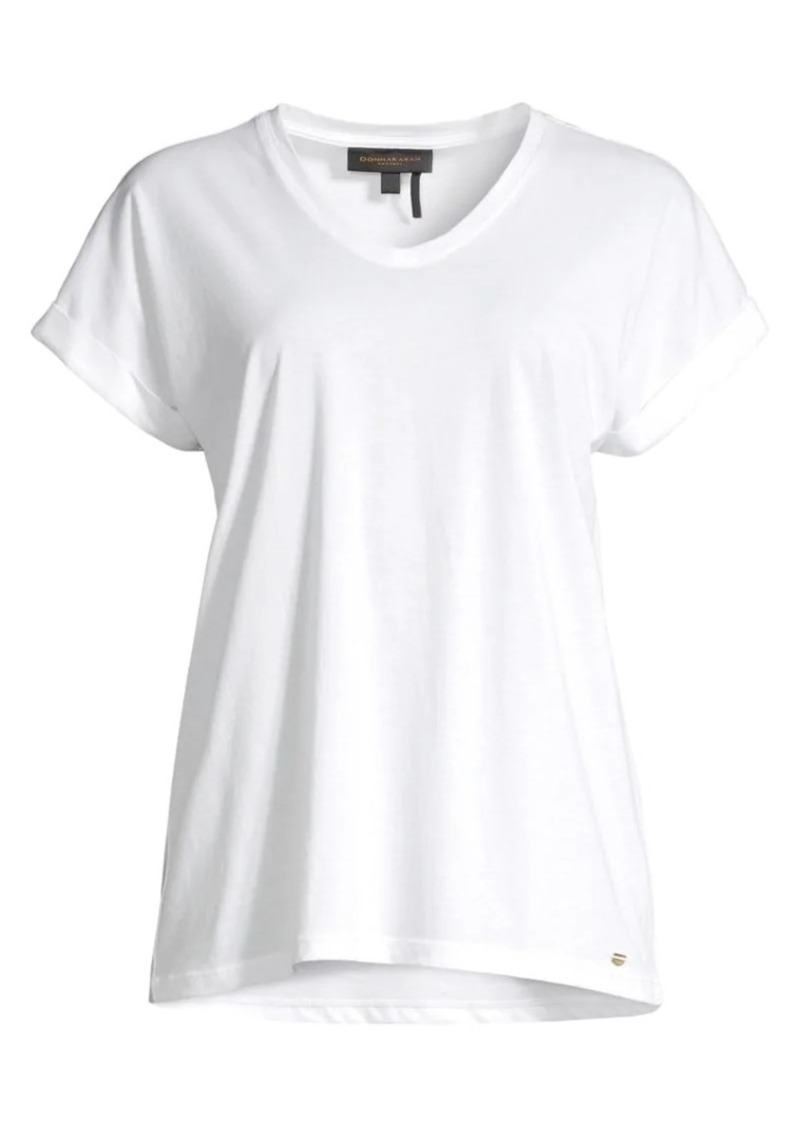 DKNY V-Neck Cotton Tee