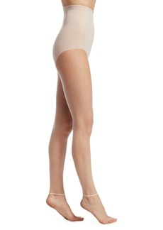 DKNY Whisper Weight Nudes Toeless Control Top Tights