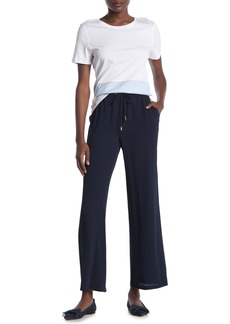 DKNY Wide Leg Drawstring Pants