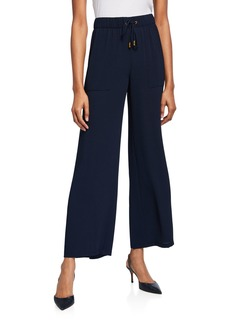 DKNY Wide-Leg Pull-On Pants