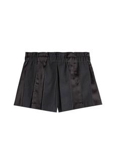DKNY Wool Shorts with Satin