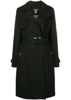 DKNY wrap coat