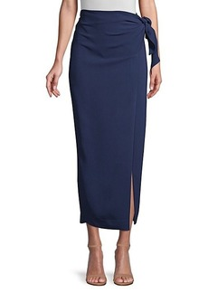 DKNY Wrap Mid-Length Skirt