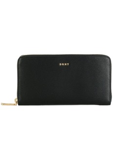 DKNY zip-around wallet