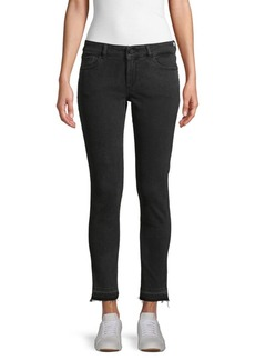 DL 1961 Camille Low-Rise Skinny Jeans