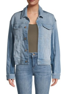 DL 1961 Annie Oversized Cropped Denim Jacket