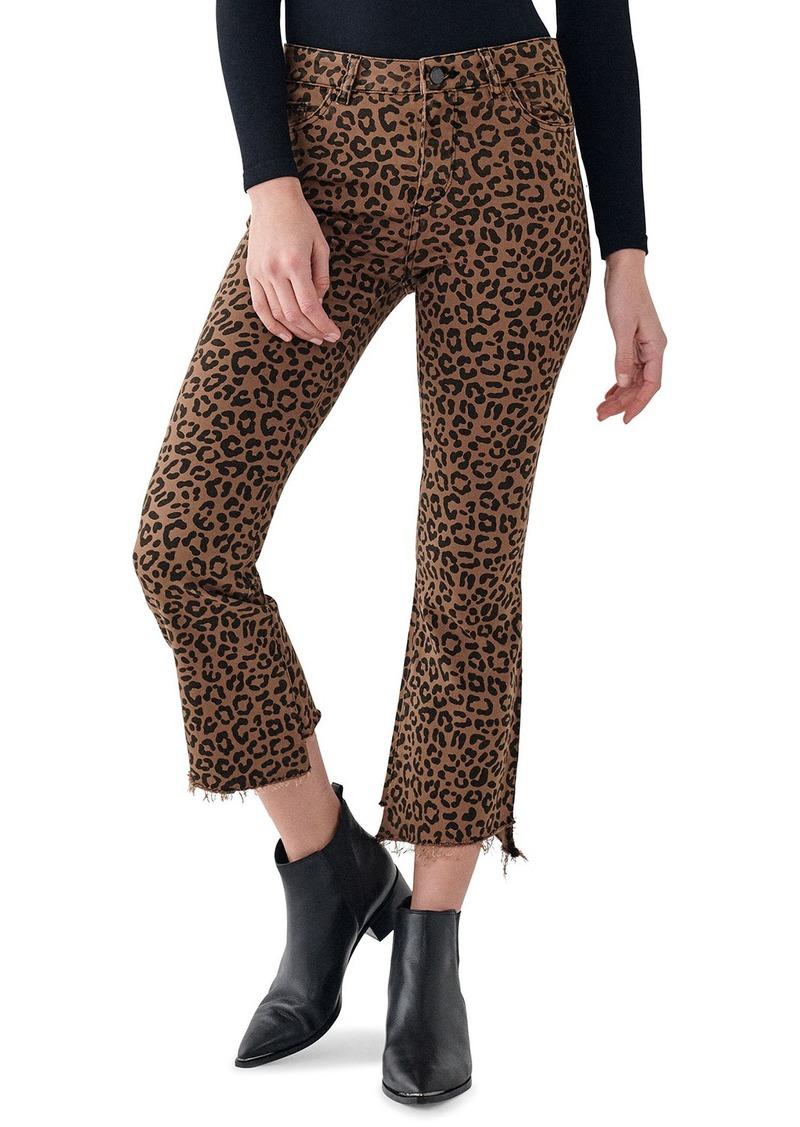 DL 1961 Bridget Crop High-Rise Boot-Cut Jeans
