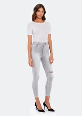 DL 1961 Chrissy Crop Ultra High Rise Skinny Jeans