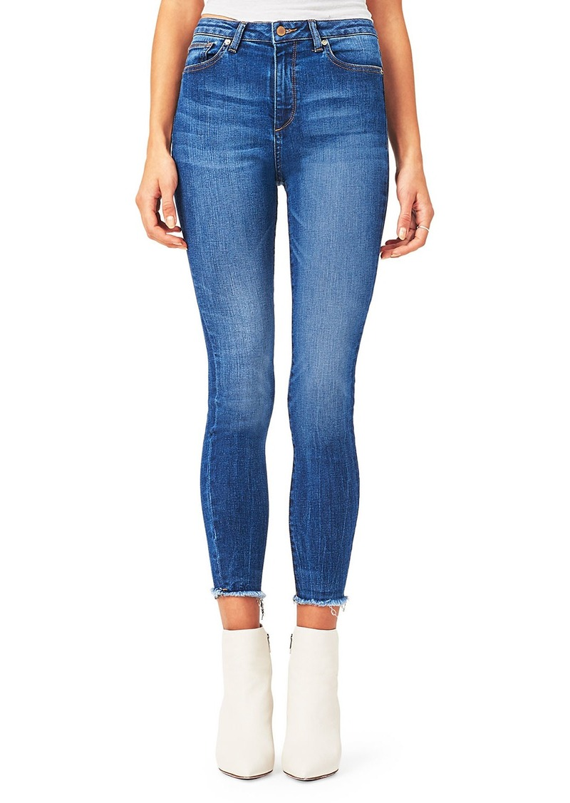 DL 1961 Chrissy High-Rise Skinny Trimtone Jeans