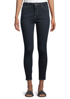 DL 1961 Chrissy Trimtone High-Rise Skinny Jeans in Alexandra