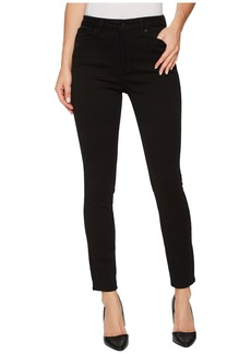 DL 1961 Chrissy Trimtone Skinny in Ink Black