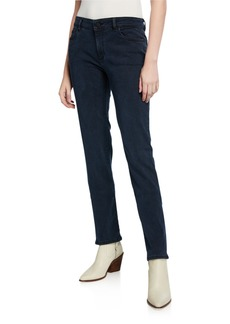 DL 1961 Coco Mid-Rise Curvy Straight-Leg Jeans