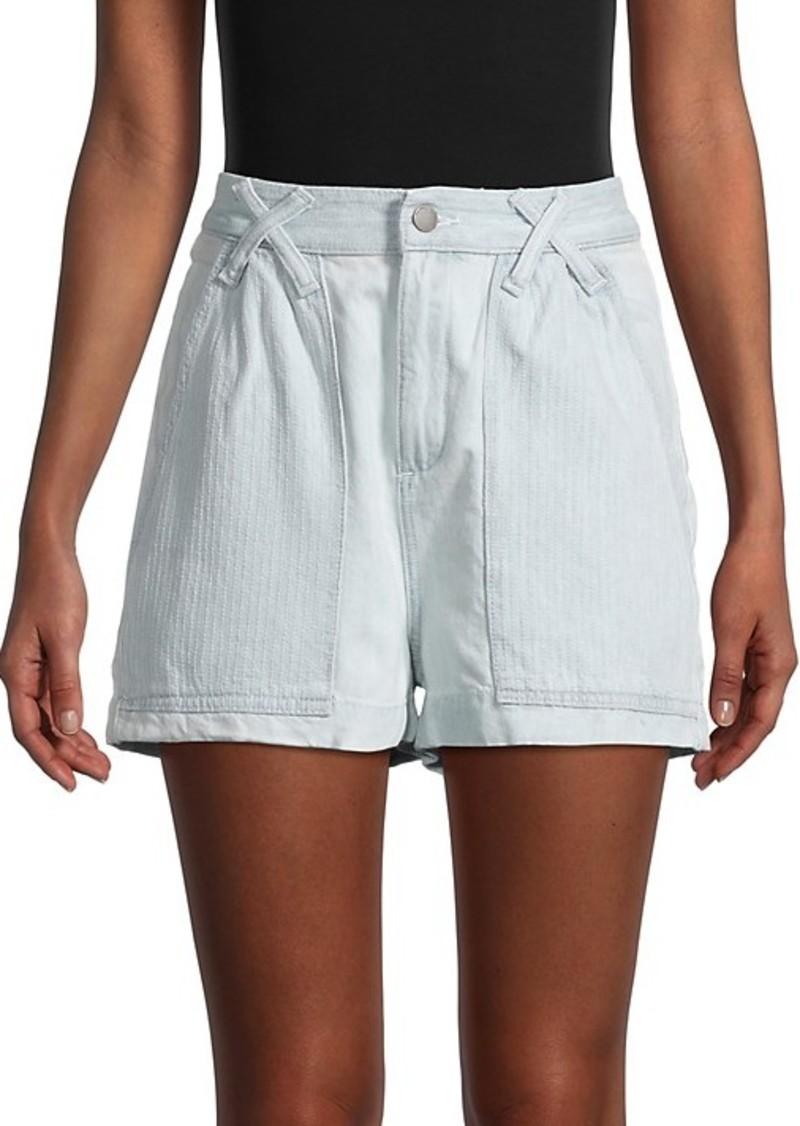 DL 1961 Cotton-Blend Denim Shorts