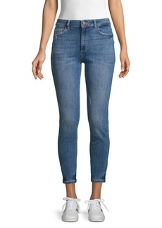 DL 1961 Distressed Skinny Jeans