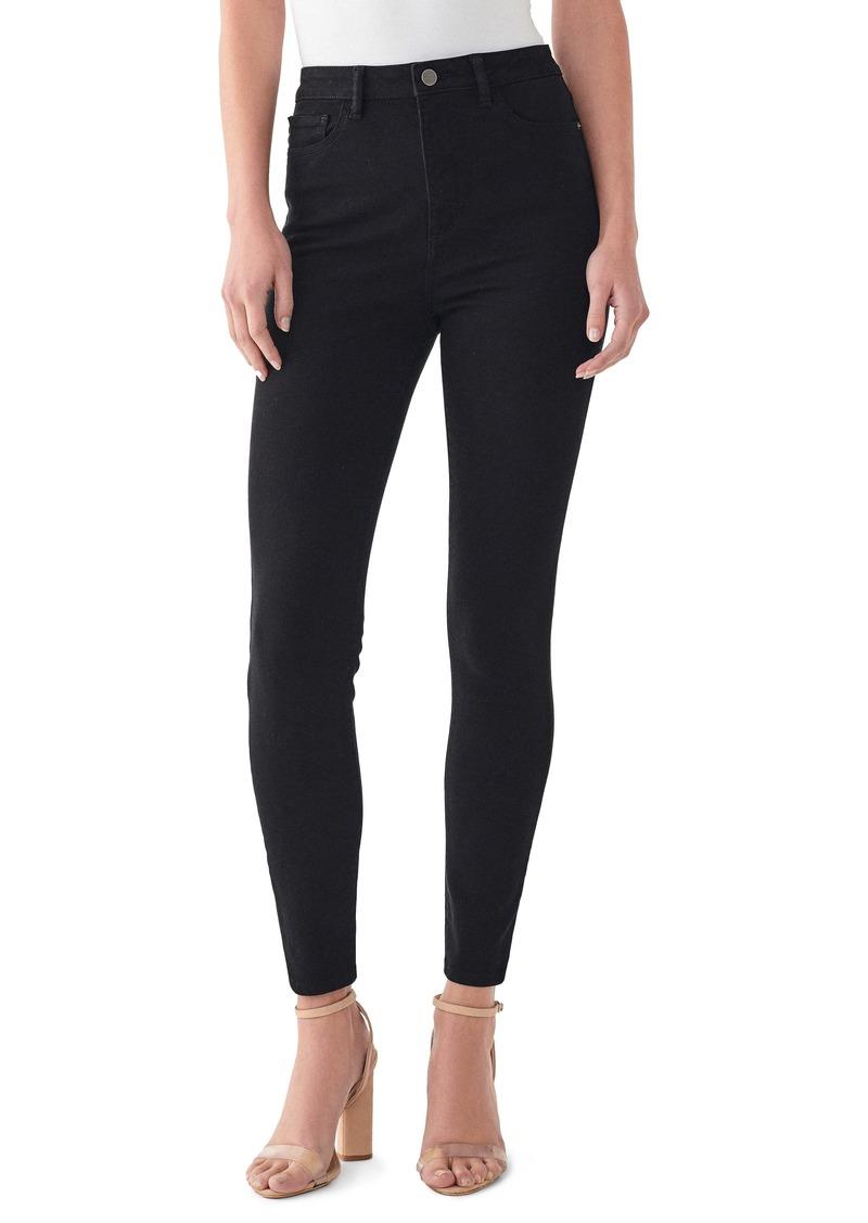 DL 1961 Chrissy High Waist Ankle Skinny Jeans (Hopper)