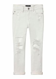 DL 1961 Girl's Harper Distressed Boyfriend Denim Jeans  Size 7-16
