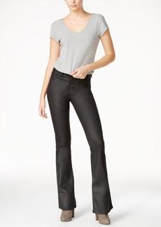 Dl 1961 Heather Coated Oilslick Wash Flared Jeans
