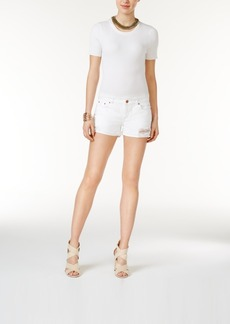 Dl 1961 Karlie Cuffed Streamline Wash Denim Shorts