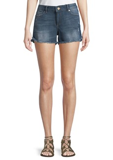 DL 1961 DL1961 Premium Denim Karlie Cutoff Denim Jean Shorts