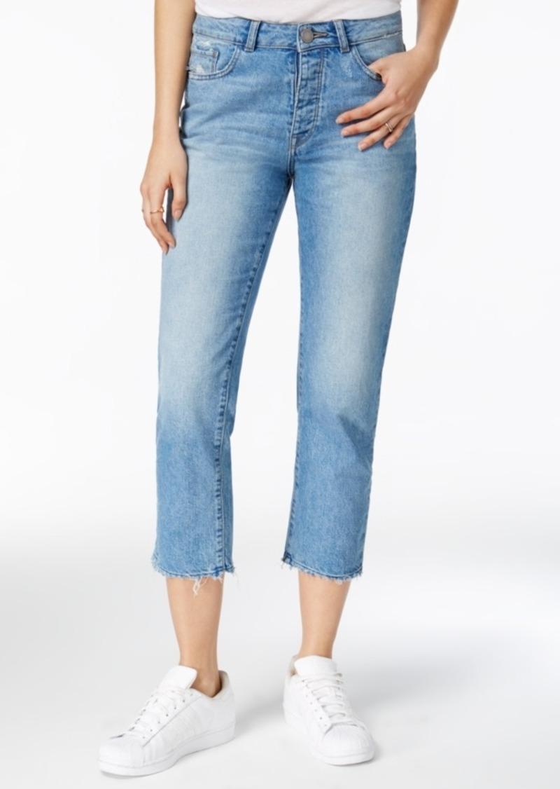 Dl 1961 Patti Frayed Ashland Wash Straight-Leg Jeans