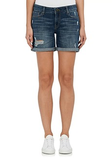 DL 1961 Women's Karlie Denim Boyfriend Shorts
