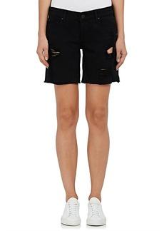 DL 1961 Women's Karlie Denim Boyfriend Shorts