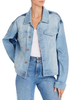 DL 1961 DL1961 Annie Oversized Cropped Denim Jacket