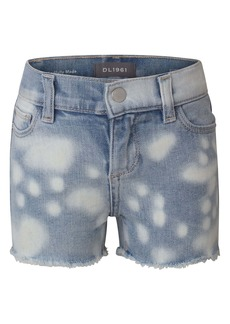 DL 1961 DL1961 Bleach Out Cutoff Denim Shorts (Big Girl)