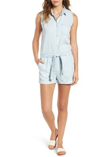 DL 1961 DL1961 Bridgehampton Chambray Romper