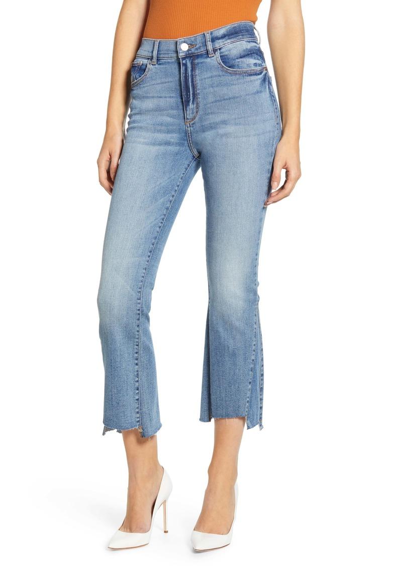 DL 1961 DL1961 Bridget High Waist Crop Bootcut Jeans (Ludgate)