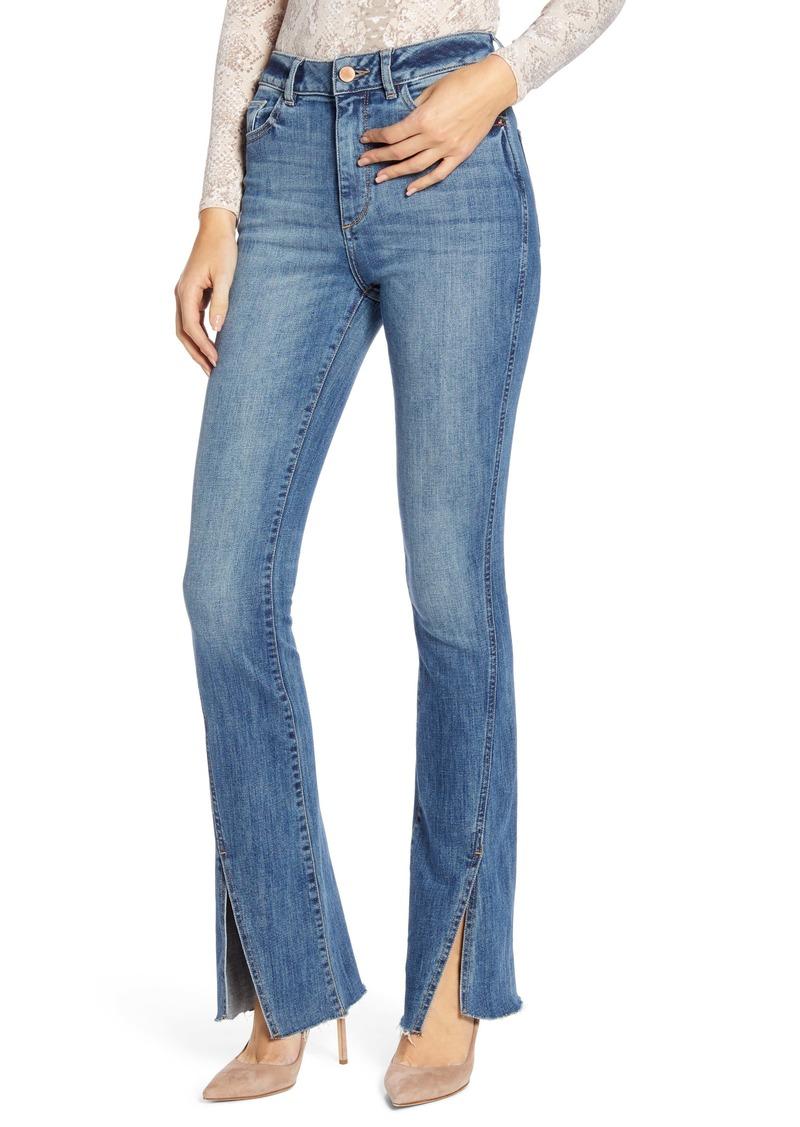 DL 1961 DL1961 Bridget High Waist Split Hem Bootcut Jeans (Hermosa)