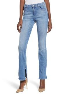 DL 1961 DL1961 Bridget Split Hem Bootcut Jeans (Ares)