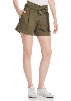 DL 1961 DL1961 Camile Paper-Bag Waist Shorts
