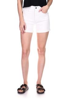 DL 1961 DL1961 Cecilia High Waist Denim Shorts (Milk Rolled)