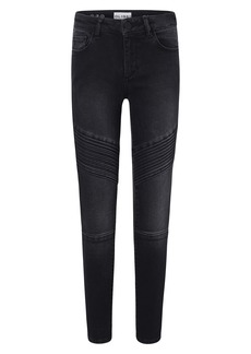 DL 1961 DL1961 Chloe Moto Skinny Jeans (Toddler Girl, Little Girl & Big Girl)