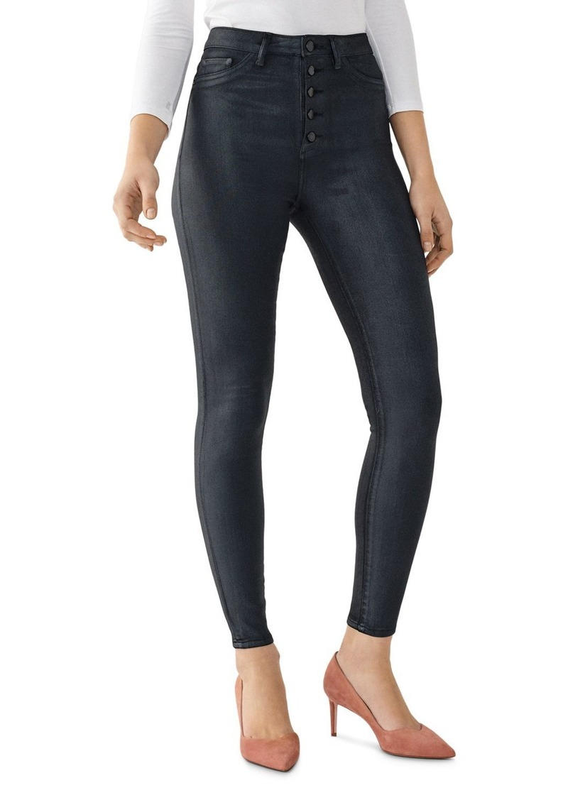DL 1961 DL1961 Chrissy Ultra High Rise Skinny Ankle Jeans in Graphite