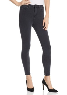 DL 1961 DL1961 Chrissy Ultra High Rise Skinny Jeans in Battle