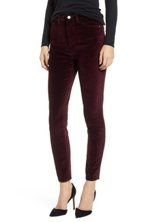 DL 1961 DL1961 Chrissy Ultra High Waist Velveteen Ankle Skinny Jeans (Manor)