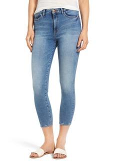 DL1961 Christy Instaslim High Waist Crop Skinny Jeans (Overboard)