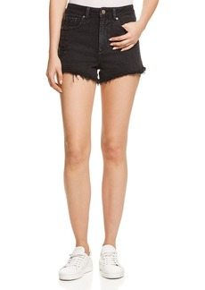 DL 1961 DL1961 Cleo High Rise Jean Shorts in Runaway