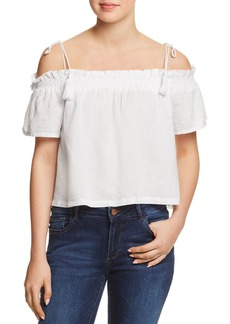 DL 1961 DL1961 Cornelia Cold-Shoulder Top