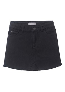 DL 1961 DL1961 Cutoff Black Denim Skirt (Big Girl)