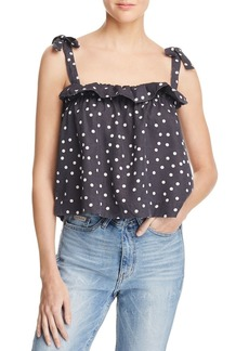 DL 1961 DL1961 Dennet Polka-Dot Top