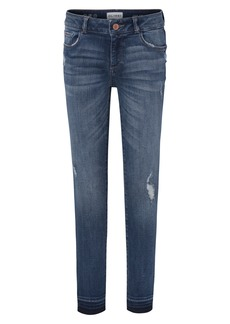 DL 1961 DL1961 Distressed Skinny Jeans (Preston) (Toddler Girl & Little Girl)