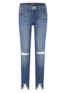 DL 1961 DL1961 Distressed Skinny Jeans (Toddler & Little Girl)