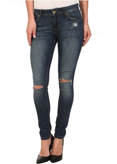 DL1961 Emma Leggings in Heather Distressed