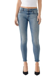 DL 1961 DL1961 Emma Low-Rise Skinny Jeans in Goodyear